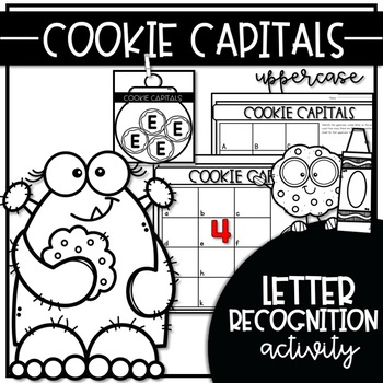 COOKIE CAPITALS {WRITE the ROOM Letter Recognition Activities}