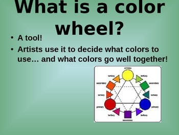 COOKIE COLOR WHEEL the edible color wheel lesson group project