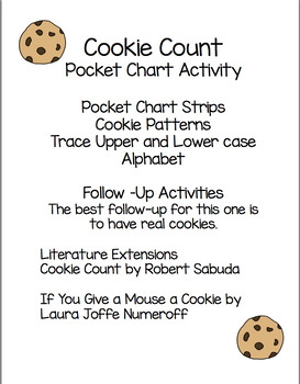 COOKIE COUNT POCKET CHART ACTIVITY