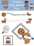 COOKIE FINE MOTOR FUN! prek preschool k12 SPED OT