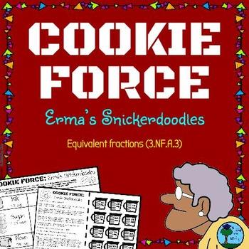 COOKIE FORCE: Erma's Snickerdoodles (NO PREP equivalent fr
