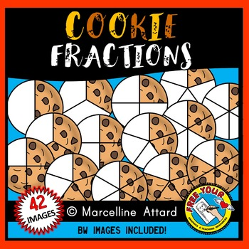COOKIE FRACTIONS CLIPART: FOOD FRACTIONS CLIPART
