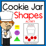 Match  2D Shapes and Shape Word Cookies