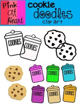 Cookie Doodles Clip Art