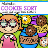 Alphabet Letters Upper and Lower Case COOKIES Sorting