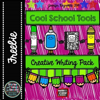 COOL SCHOOL TOOLS CREATIVE WRITING BOOKLET