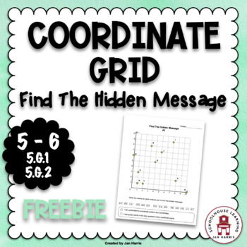 COORDINATE GRID - Find The Hidden Message