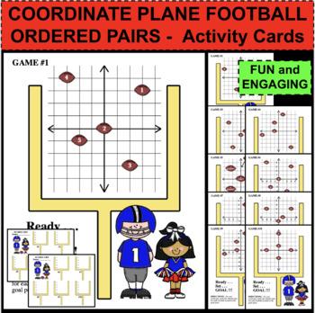 COORDINATE PLANE FOOTBALL GAME Quadrants