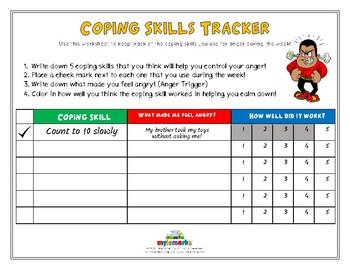 COPING SKILLS TRACKER (ANGER)