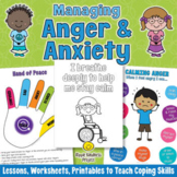 COPING STRATEGIES for Anger and Anxiety - Calming Skills f