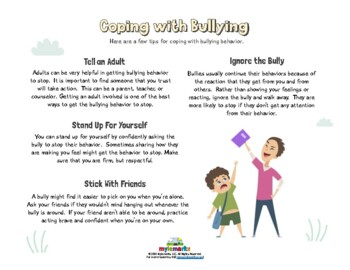 COPING WITH BEING BULLIED