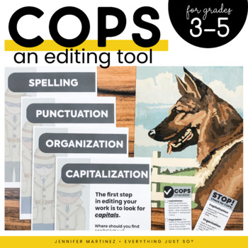 COPS: An Editing Strategy for Writing