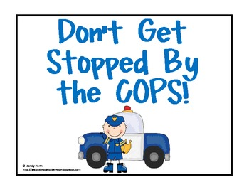 COPS A resource for editing