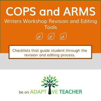 COPS & ARMS:  Editing and Revision