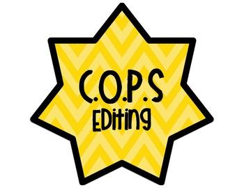 COPS Editing Posters