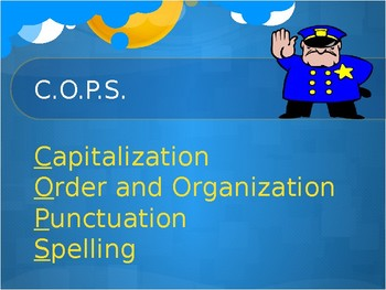 COPS Editing Powerpoint