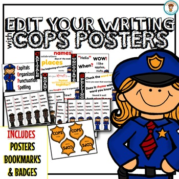 Edit Your Writing with COPS Posters!