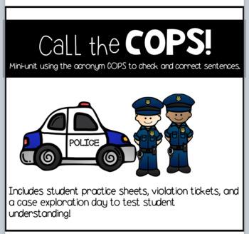 COPS Grammar Mini-Unit