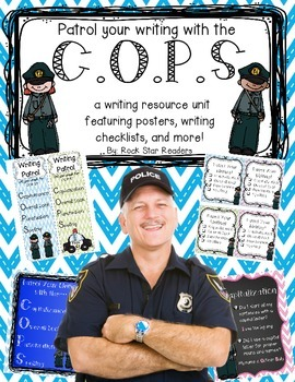 {C.O.P.S} Proofreading Writing Resource Poster and Activit