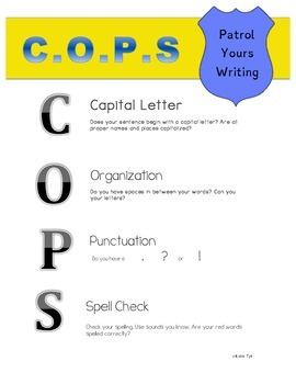 COPS Sentence Checker