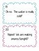 COPS Task Cards--Editiing Practice