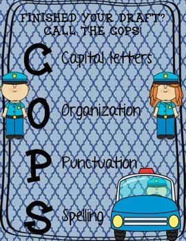 COPS - Writing Editing