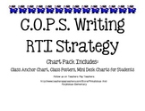 COPS Writing Strategy RTI Research Based Intervention Poster & Desk Mini Labels