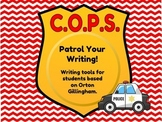 C.O.P.S. Writing check