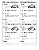 COPS editing checklist