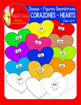 CORAZONES - HEARTS SHAPES