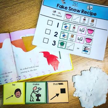 CORE Vocab Fake Snow Recipe