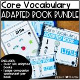 CORE Vocabulary Adapted Book Bundle