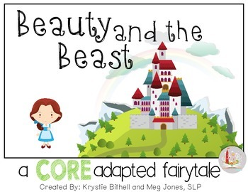 CORE Words AAC Beauty and the Beast
