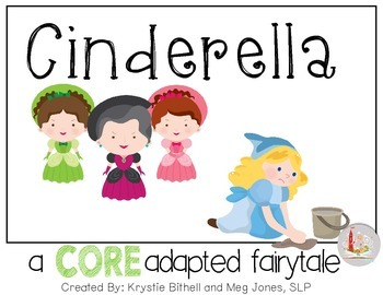 CORE Words AAC Cinderella