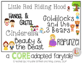 CORE Words AAC BUNDLE Fairytales