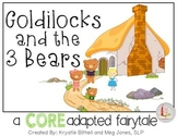 CORE Words AAC Goldilocks and the Three Bears