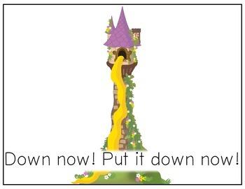 CORE Words AAC Rapunzel