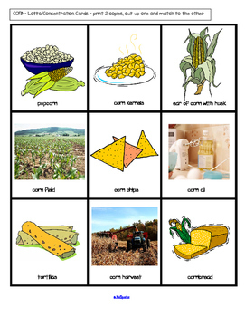 CORN Centers and Activities for Preschool and Pre-K