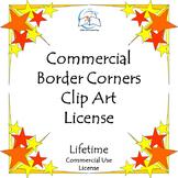 Border Corner Clip Art BUNDLE - Commercial {LIFETIME LICEN