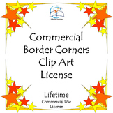 Border Corner Clip Art BUNDLE - Commercial {LIFETIME LICEN