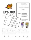 CORNY-COPIA ~ A funny Thanksgiving feast!