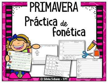 CORTA, PEGA Y ESCRIBE: fonética, lectura y escritura en español