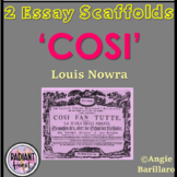 COSI- Louis Nowra Two Essay Scaffolds