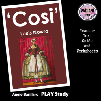 COSI- NOWRA -Teacher Text Guides and Worksheets