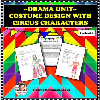 DRAMA LESSON: COSTUME DESIGN STUDY WITH CIRCUS PERFORMERS DISTANCE LEARNING