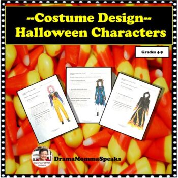 ELEMENTS OF DRAMA: COSTUME DESIGN WITH HALLOWEEN CHARACTERS