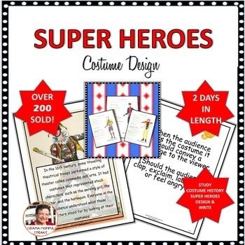 DRAMA LESSON: COSTUME DESIGN WITH SUPER HEROES