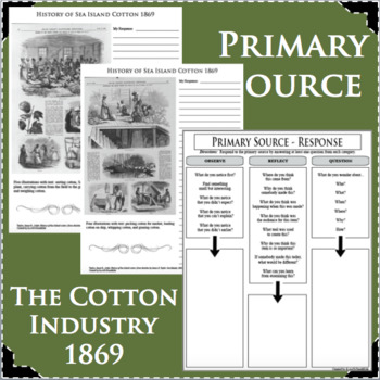 COTTON INDUSTRY African American Black History PRIMARY SOURCE