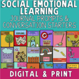 Distance Learning Social Emotional Learning Journal & Conv