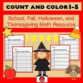 COUNT AND COLOR 1-5